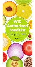 California WIC Approved Foods - Page 01